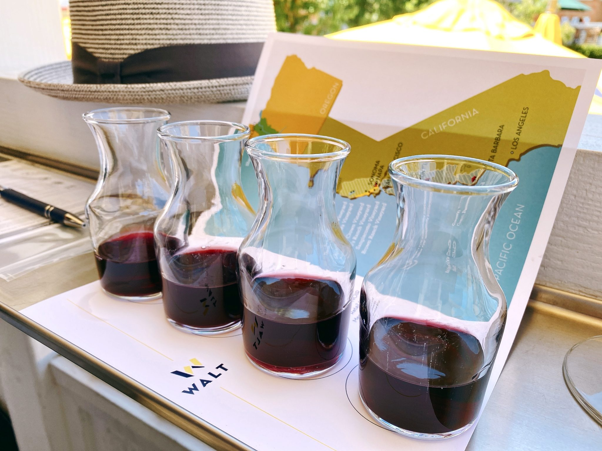WALT Cellars offers a variety of pinot noir wines at the Downtown Napa tasting room.