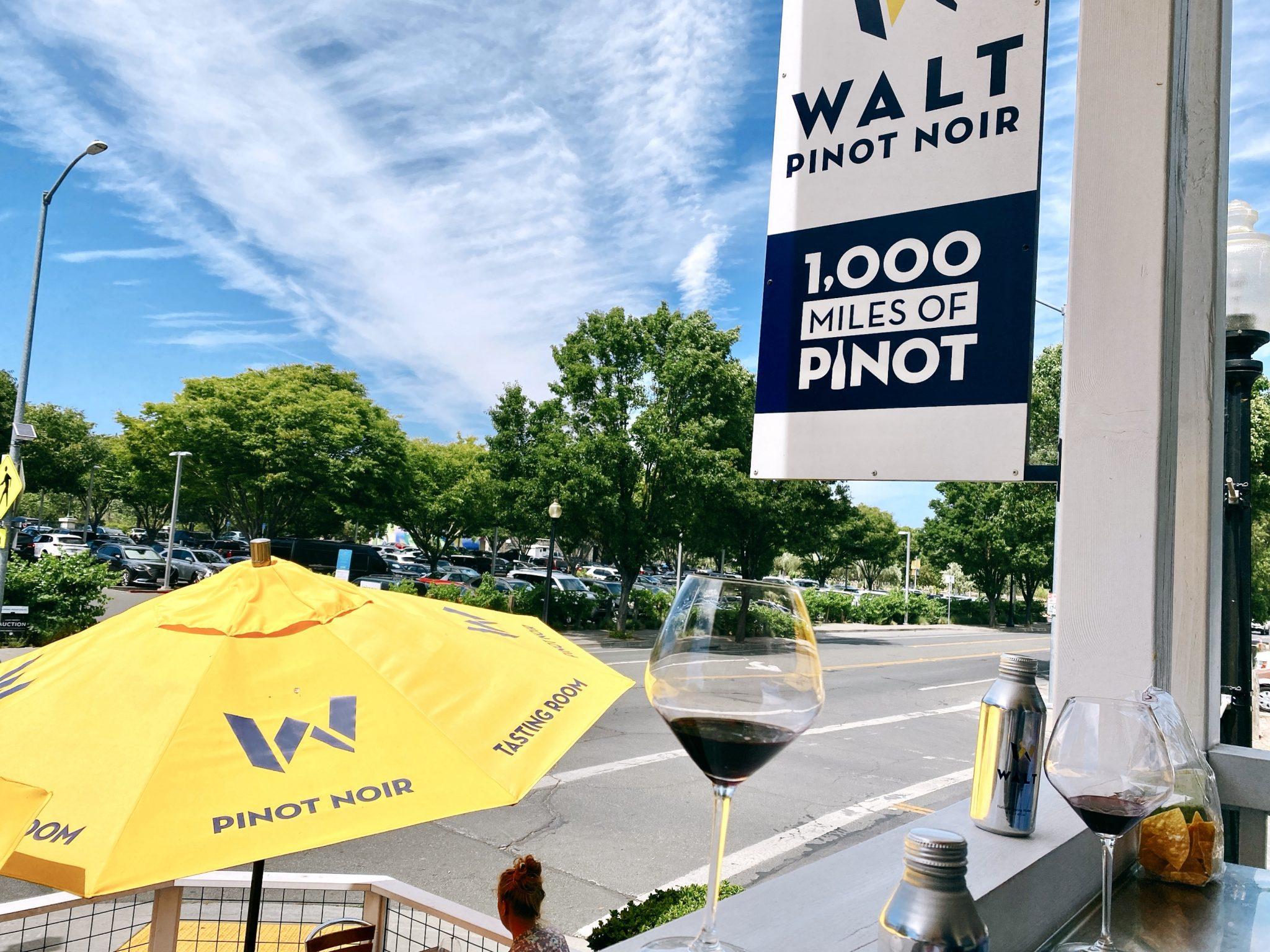 WALT Cellars tasting room in Downtown Napa